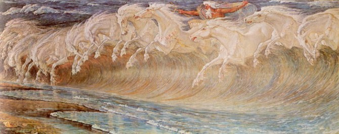cheval camargue mythe