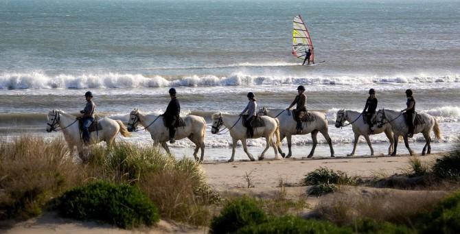 balade cheval en Camargue